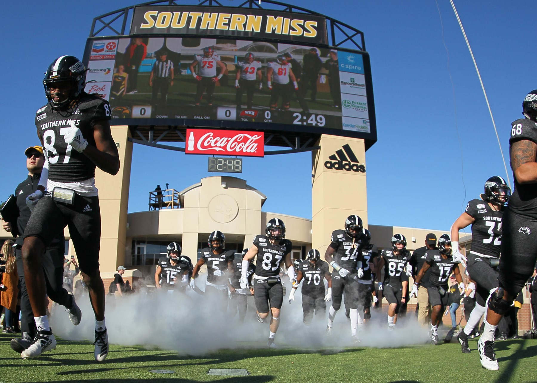 Football Announces 2020 Schedule Southern Miss